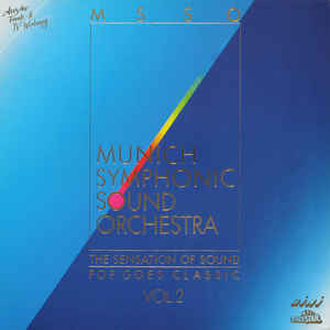Munich Symphonic Sound Orchestra ‎– The Sensation Of Sound - Pop Goes Classic Vol. 2 (1989)