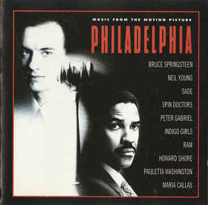 Various ‎– Philadelphia (Music From The Motion Picture) (1993)