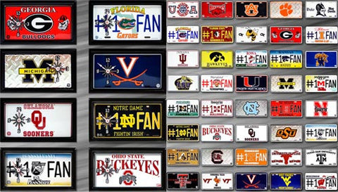College Football Clock 7 x 13