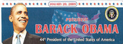 Obama Magnetic Bumper Sticker