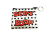 Betty Boop Key Chain/ Coin Purse Polka Dots