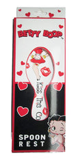 Betty Boop Spoon Rest Kiss The Cook Boxed