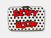 Betty Boop Card Case Polka Dots