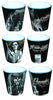 David Gonzales Art Shot Glass Western  Set of 3