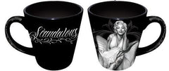 NJ as MM- David Gonzales Art Mug Latte Scandalous