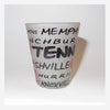 Tennessee Shot Glass Cities