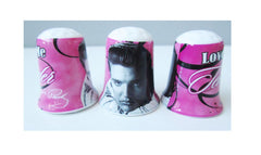 Elvis Thimble Love Me Tender Pink