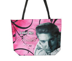 Elvis Tote Bag Love Me Tender