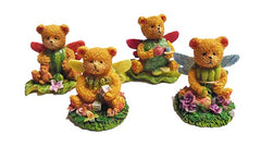 Bear Figurine Set/4