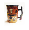 Mug We Don't Call 911 Rifle Handle