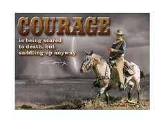 John Wayne Magnet Courage
