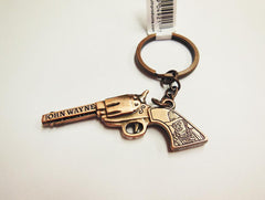 John Wayne Key Chain Copper Pistol