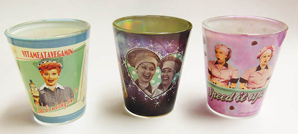 Lucy Shot Glass - Chocolate Factory, Vita, Best Friends