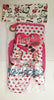 Lucy Pot Holder Oven Mitt Set Chocolate Factory Polka Dots