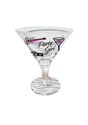 Memphis Martini Glass Mini Party Girl