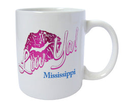 Mississippi Mug Luv Ya Lips