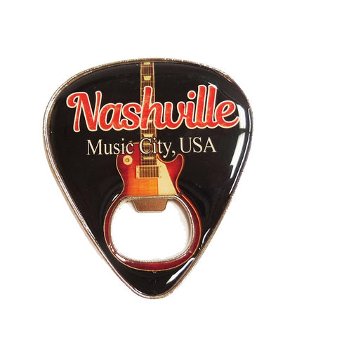 Nashville Bottle Opener Guitar Pick