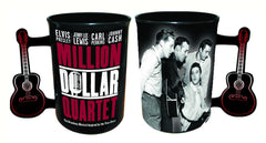 Million Dollar Quartet Mug w/ Guitar Handle