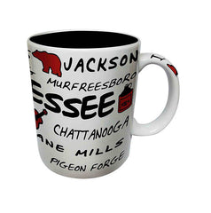 Tennessee Mug Cities
