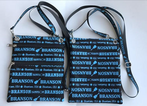 Branson Passport /Purse Blue