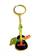 Branson Key Chain Guitar Multicolor