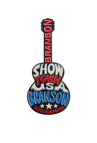 Branson Magnet Guitar Funky Word