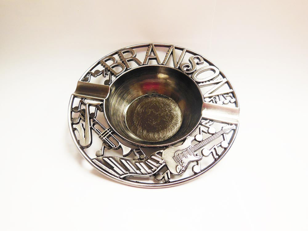Branson Ashtray Pewter