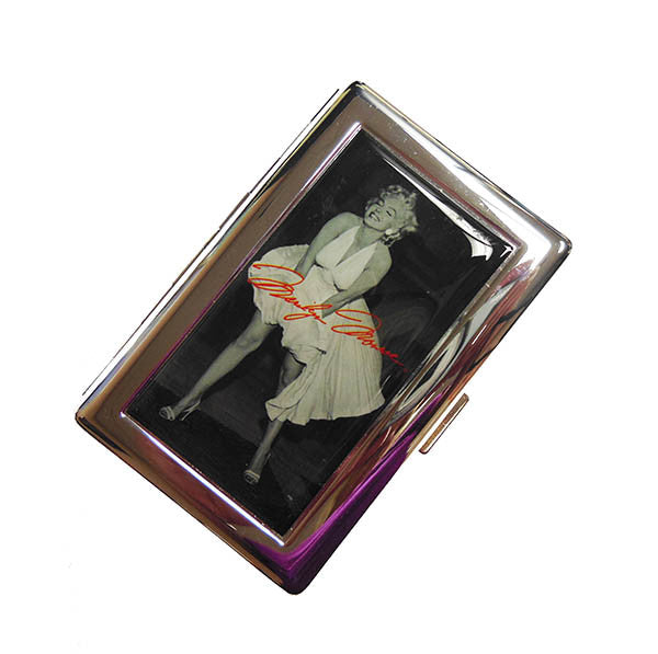 Marilyn Card Holder Case Blow Up