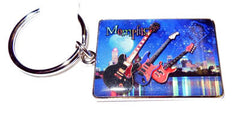 Memphis Key Chain Skyline w/Guitars B/E