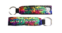 Betty Boop Key Chain Wristlet Colorful