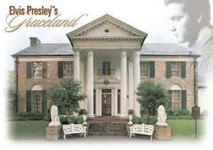 Elvis Postcard Graceland