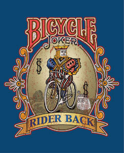 Metal Sign Bicycle Joker
