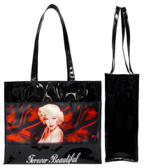 Marilyn Tote Bag Red Sheets Forever