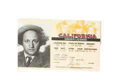 Stooges Drivers License Larry