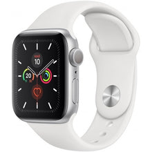 Carregar imagem no visualizador da galeria, Apple Watch Series 5 44MM - Silver Sport Band