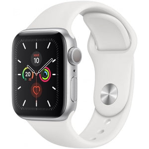 Apple Watch Series 5 44MM - Silver Sport Band