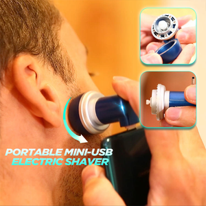 Portable Mini-USB Electric Shaver