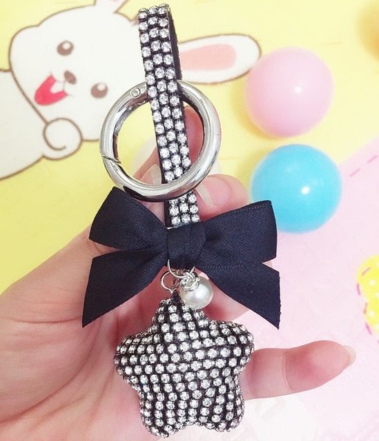 Wafer Ball Keychain