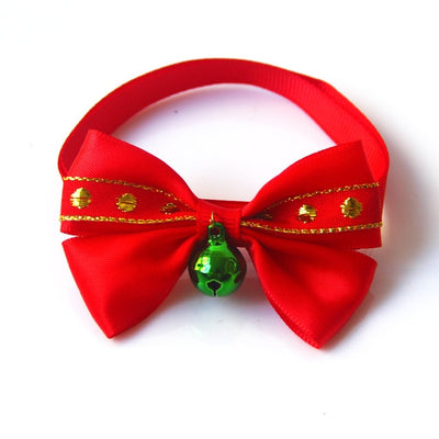 Lovely Christmas Holiday Pet  Collar