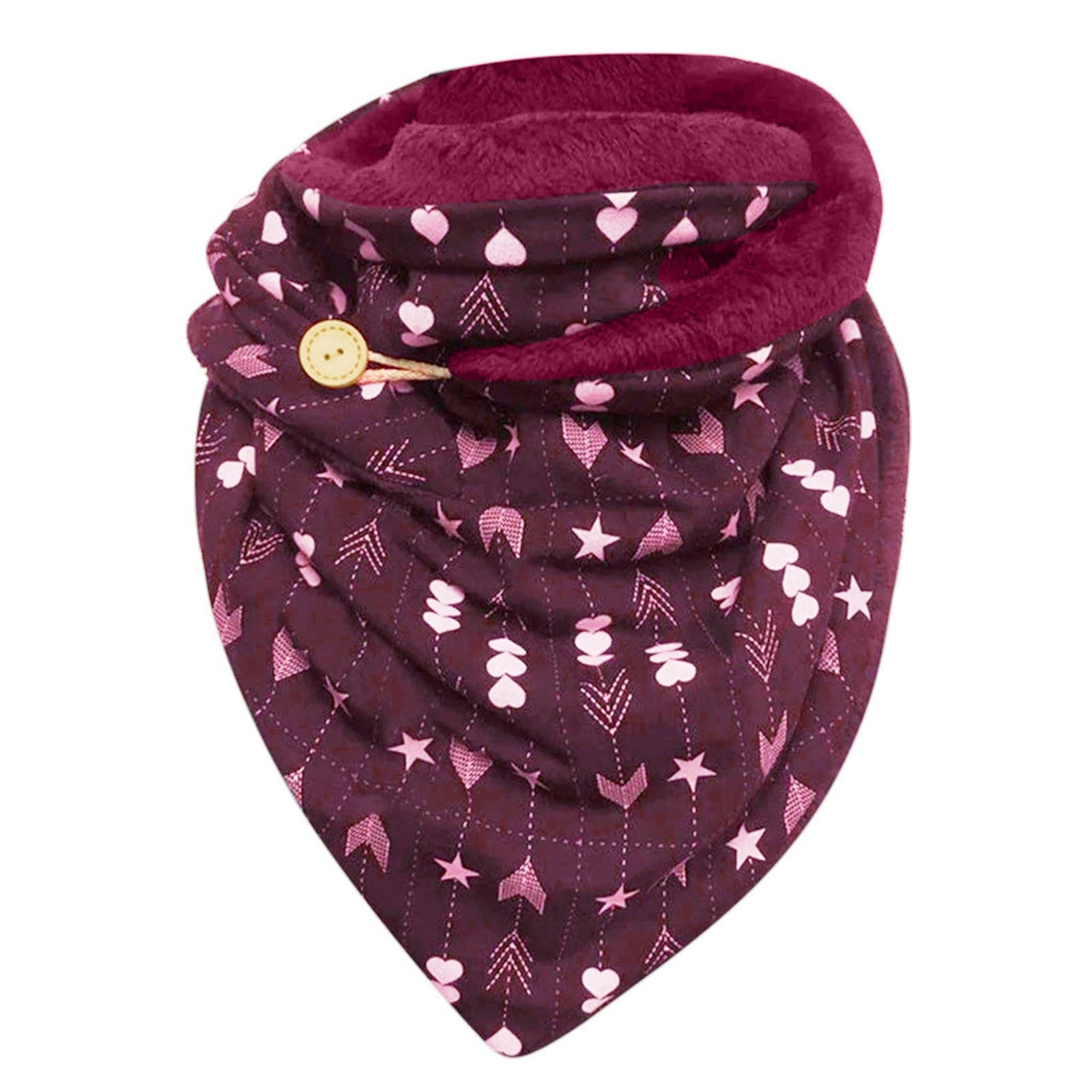Women Winter Warm Print  Scarf