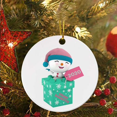 1PC  Christmas Ornaments Hanging Decoration Gift