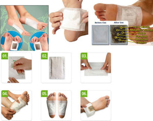 GINGER DETOX FOOT PADS(10 PCS)