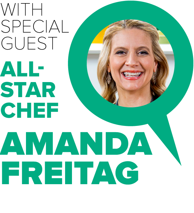Special Guest All-Star Chef Amanda Freitag