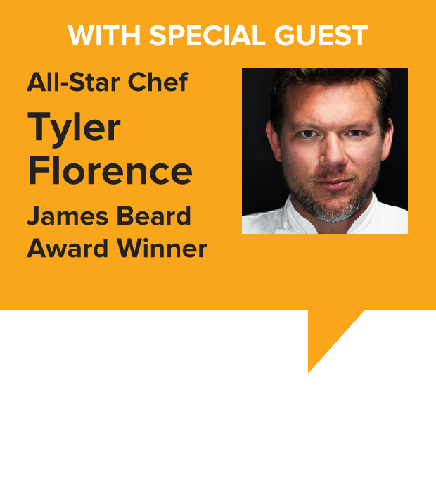 Special Guest All-Star Chef Marc Murphy, James Beard Award Winner