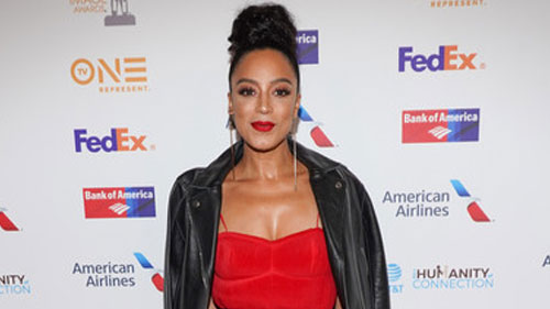 Lady in Red: Angela Rye