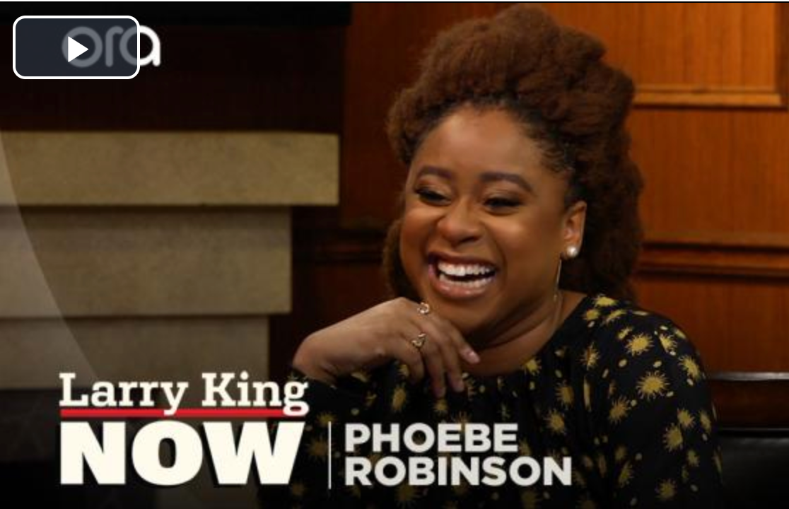 'Dope Queen' Phoebe Robinson in AMANDA PEARL on Larry King!