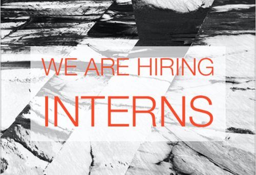 We are Hiring: Interns