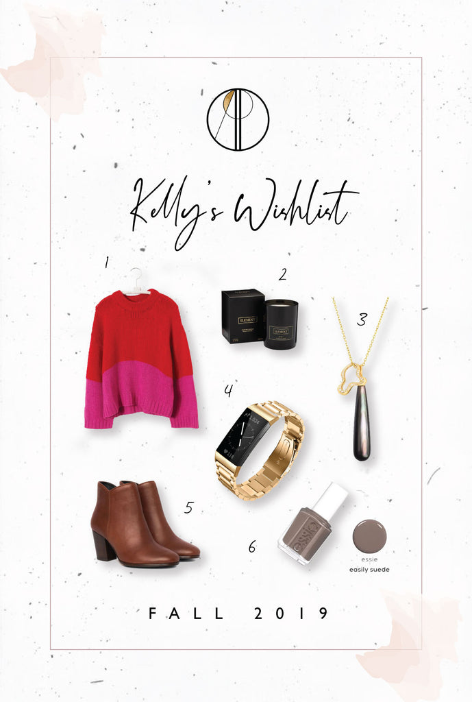 Kelly's fall wishlist