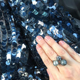 SAMPLE SALE - Spiked Pearl Bypass Ring - AMANDA PEARL