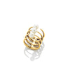 Quad Quill Ring with Pearls - AMANDA PEARL - elegantly edgy accessories
